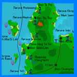 Koh Chang Map, Thailand Map