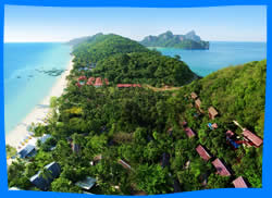 Laem Tong beach, Phi Phi Beaches Guide, Holiday Inn Phi Phi Island Resort