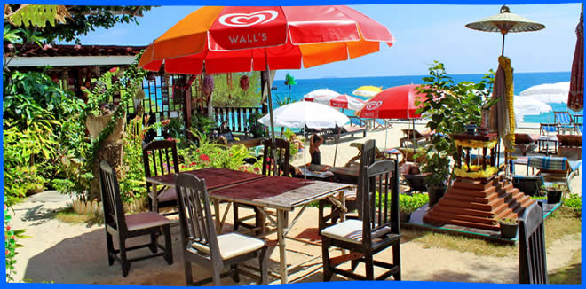 Koh Samet Restaurants - beach side dining